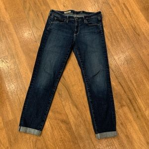 Adriano Goldschmied The Stilt Rollup Jeans Size 30